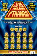$100,000 Pyramid Lottery Ticket