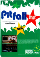 Pitfall Trade Ad from 1982