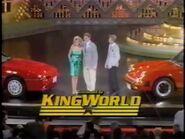 WOF King World logo - New York 1988