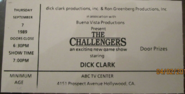 The Challengers (September 07, 1989)