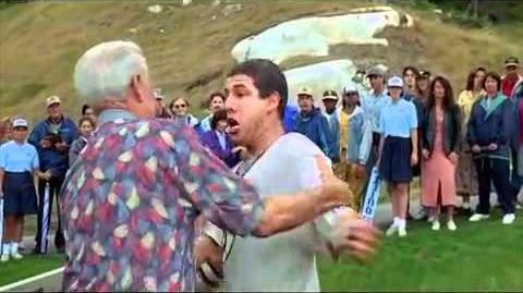 Adam Sandler and Bob Barker Fight