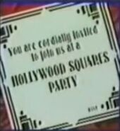 Hollywood squares party