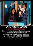 Late Night Lotto ad