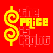 The Price is Right Logo in Red Background
