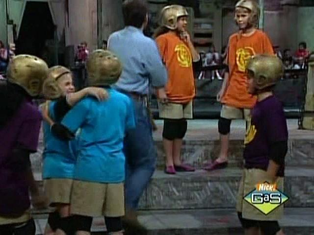 Legends of the Hidden Temple Episode 55 Lucky Heart-Shaped Pillow of Annie Taylor