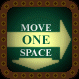 Move 1 Space (Down and Right)