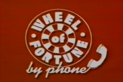 Wheel of Fortune By Phone