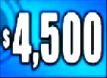 $4,500