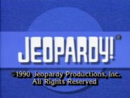 Jeopardy! Blue Circle Copyright Screen
