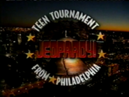 Jeopardy! Teen Tournament Logo 2001