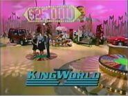 WOF King World logo - 1990