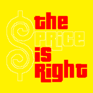 The Price is Right Logo in Yellow Background