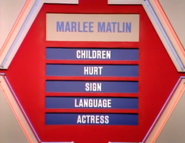 Marlee Matlin Puzzle