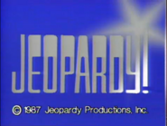 Jeopardy! 1987 copyright card