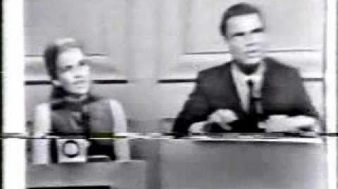 Hollywood Squares 1965 pilot - Part 1