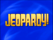 Jeopardy! 1992-1993 season intertitle