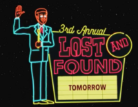 3rd Annual Lost and Found Tomorrow