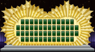 Wheel of Fortune Puzzle Board 2