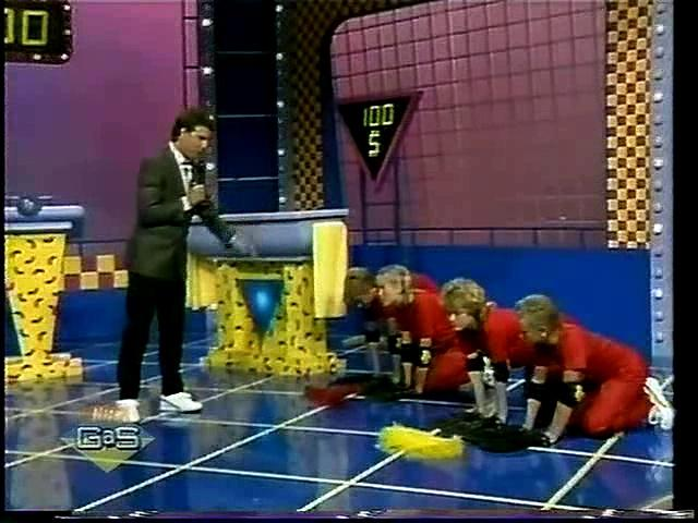 Double Dare (1986) - The Spazballs vs. The Stooges