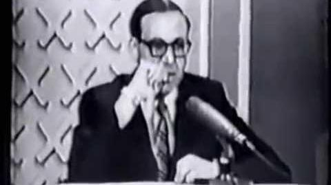 Hollywood Squares (May 29, 1967) Larry vs Candy Part 1