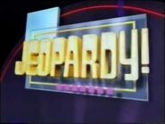 Jeopardy! Season 13 Title Card