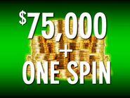 Pyl 2019 present 75 000 one spin space green by dadillstnator ddailw9-250t
