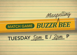 Match Game Buzzr Misspelling Bee