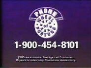 PhoneWOF 1-900 Number