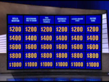 Jeopardy!/Game Board