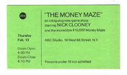 The Moneymaze (February 13, 1975)