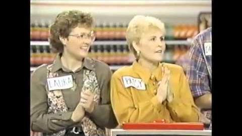 Supermarket Sweep Laura Patsy vs Kevin Brandon vs Rhonda Ricki