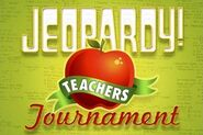 Jeopardy! Season 27 Teachers Tournament Title Card
