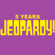 Jeopardy! 5 Years Logo