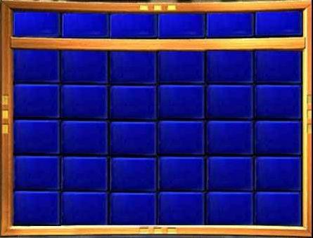 Image Jeopardy Board Templatea Jpg Game Shows Wiki Fandom Blank Template