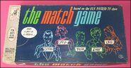 Match game vintage board games 1963