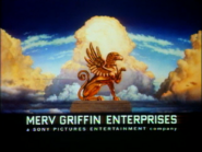 Merv Griffin Enterprises logo with Sony Pictures byline