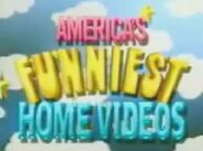 America's Funniest Home Videos Logo 1989 a