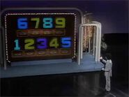 Alex Trebek and the Old Main Game Board