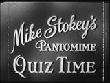 Mike Stokey's Pantomine Quiz Time
