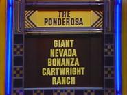 The Ponderosa Puzzle