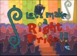 Let's Make a Right Price