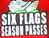 Six Flags Season Passes