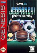 Jeopardy! Sports Edition Sega Genesis Video Game