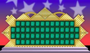 Wheel of Fortune Puzzle Board 5