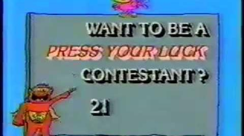 Press Your Luck contestant plug, 1983