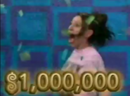 Cynthia wins a million