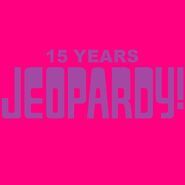 Jeopardy! 15 Years Logo