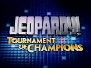 Jeopardy! Season 19 Tournament of Champions Title Card