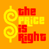 The Price is Right Logo in Orange Background