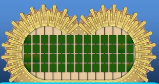 Wheel of Fortune Puzzle Board 3
